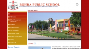 Bohra School Website
