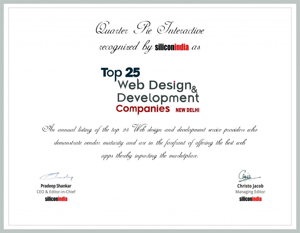 Best web design companies india