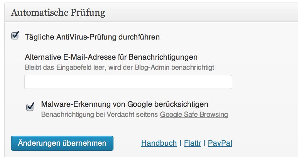 AntiVirus For WordPress